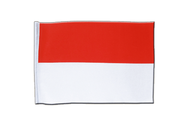 Indonesia Satin Flag 6x9""