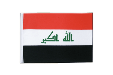 Iraq 2009 Satin Flag 6x9""