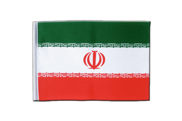 Iran Satin Flag 6x9""
