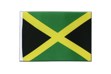 Jamaica Satin Flag 6x9""