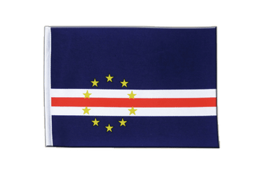 Cape Verde Satin Flag 6x9""