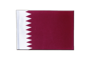 Qatar Satin Flag 6x9""