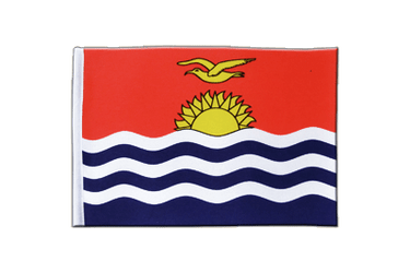Kiribati Satin Flag 6x9""