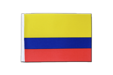 Colombia Satin Flag 6x9""