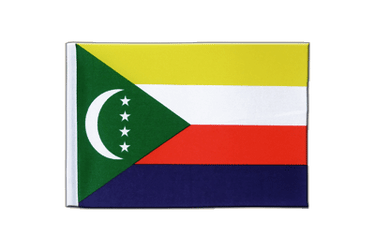 Comoros Satin Flag 6x9""