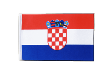 Croatia Satin Flag 6x9""