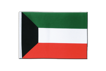 Kuwait Satin Flag 6x9""