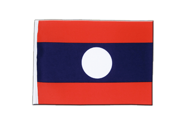 Laos Satin Flag 6x9""