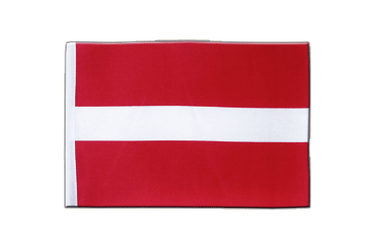 Latvia Satin Flag 6x9""