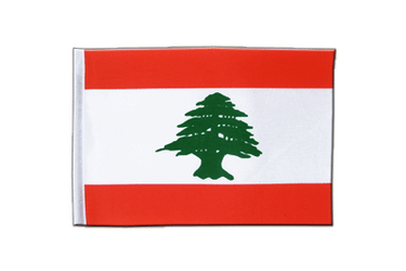 Lebanon Satin Flag 6x9""