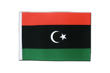 Kingdom of Libya 1951-1969 Opposition Flag Anti-Gaddafi Forces Satin Flag 6x9""