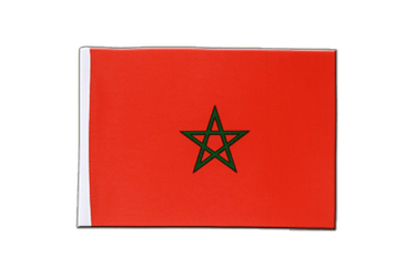 Morocco Satin Flag 6x9""
