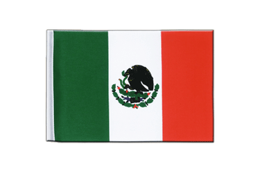 Mexico - Satin Flag 6x9""
