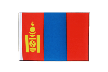 Mongolia Satin Flag 6x9""