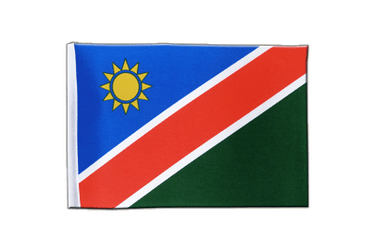 Namibia Satin Flag 6x9""