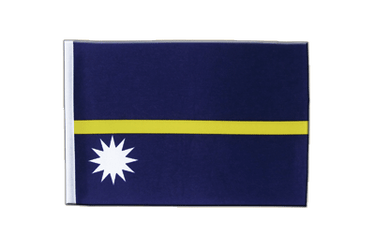 Nauru Satin Flag 6x9""
