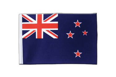 New Zealand Satin Flag 6x9""