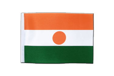 Niger Satin Flag 6x9""