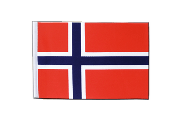 Norway Satin Flag 6x9""