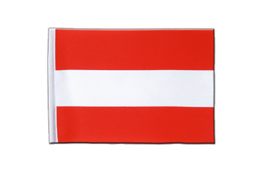 Austria Satin Flag 6x9""