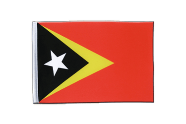 East Timor Satin Flag 6x9""