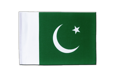 Pakistan Satin Flag 6x9""