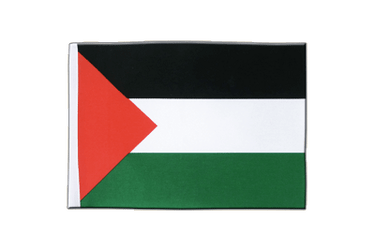 Palestine Satin Flag 6x9""