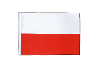 Poland Satin Flag 6x9""
