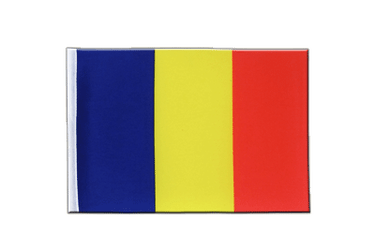 Rumania Satin Flag 6x9""