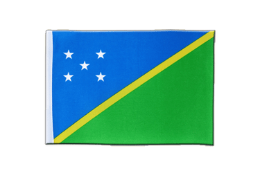 Solomon Islands Satin Flag 6x9""
