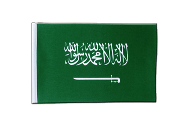 Saudi Arabia Satin Flag 6x9""