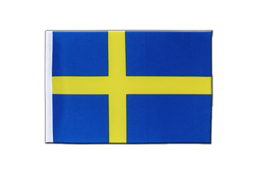 Sweden Satin Flag 6x9""