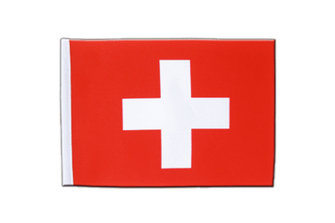 Switzerland Satin Flag 6x9""