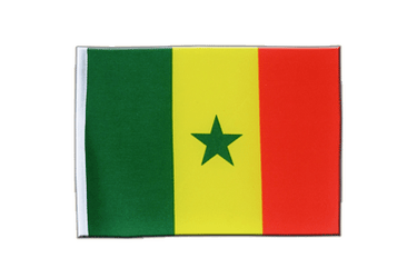 Senegal Satin Flag 6x9""