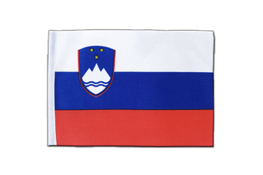 Slovenia Satin Flag 6x9""