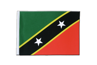 Saint Kitts and Nevis Satin Flag 6x9""