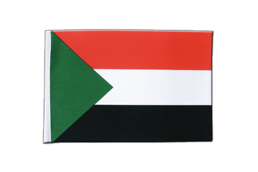 Sudan Satin Flag 6x9""