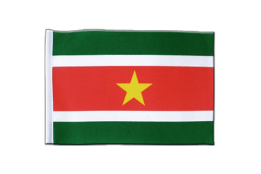 Suriname Satin Flag 6x9""