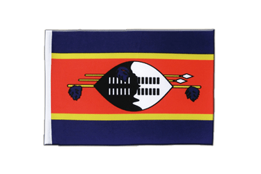Swaziland Satin Flag 6x9""
