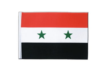 Syria - Satin Flag 6x9""