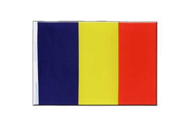 Chad - Satin Flag 6x9""
