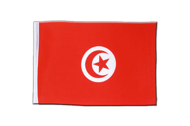 Tunisia Satin Flag 6x9""