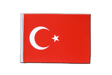 Turkey Satin Flag 6x9""
