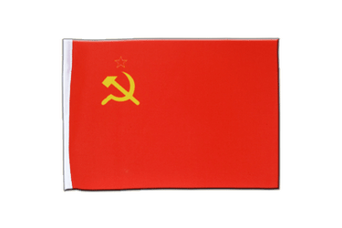 USSR Soviet Union Satin Flag 6x9""