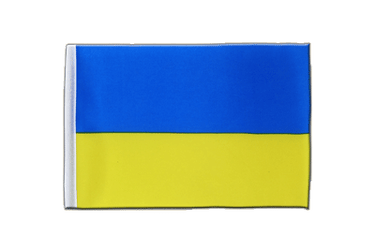 Ukraine - Satin Flag 6x9""