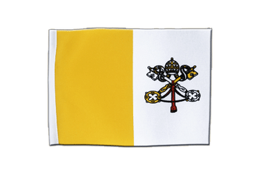 Vatican Satin Flag 6x9""
