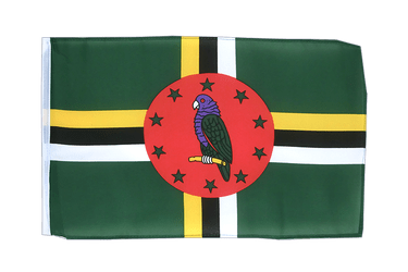 Dominica 12x18 in Flag