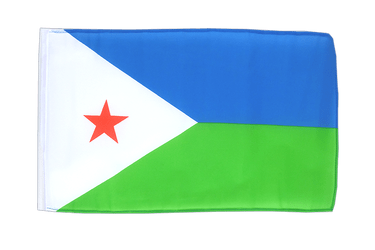 Djibouti - 12x18 in Flag