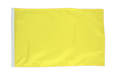 Yellow 12x18 in Flag
