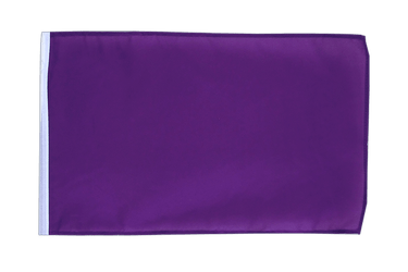 Purple 12x18 in Flag